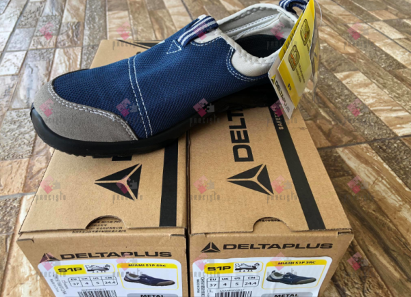 DELTA PLUS MIAMI S1P SRC GREY-NAVY BLUE