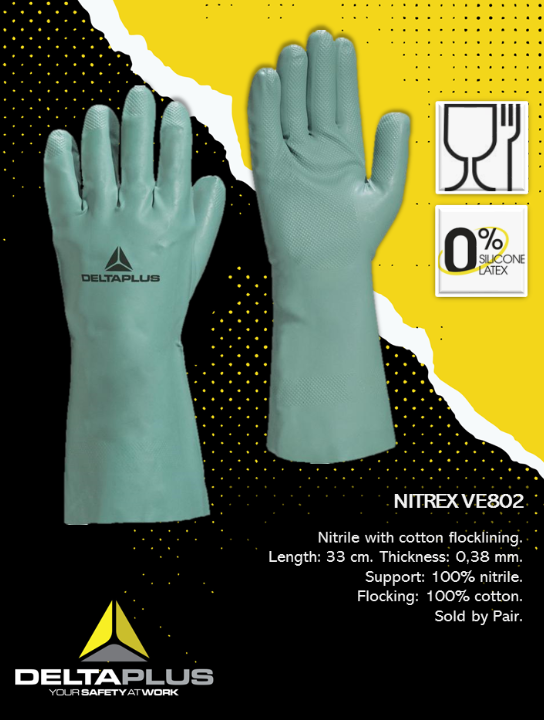DELTA PLUS NITREX VE802 GLOVES