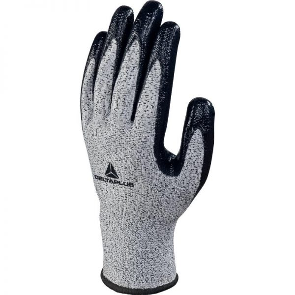 KNITTED ECONOCUT® GLOVE - NITRILE COATED PALM - GAUGE 13