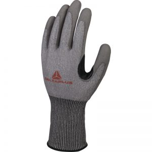 SOFTNOCUT® KNITTED GLOVE - PU-COATED PALM - REINFORCEMENT