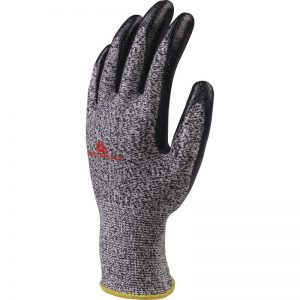 KNITTED ECONOCUT® GLOVE WITH NITRILE COATING PALM