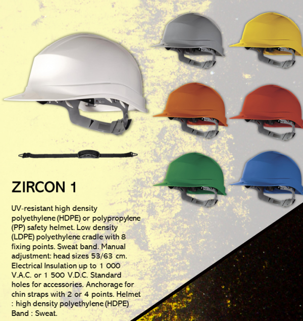 DELTA PLUS ZIRCON 1 HARD HATS