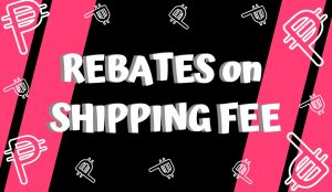 PIT Shipping Fee Rebates