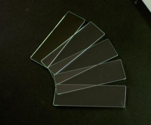 glass slide plain