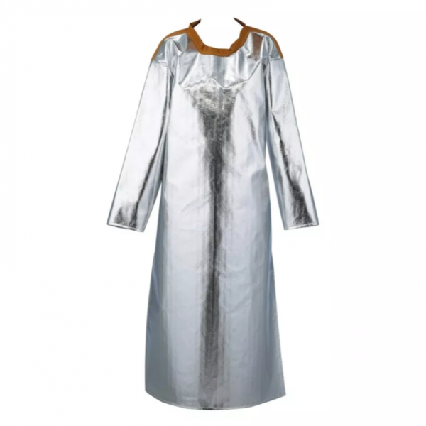 Aluminized Apron with Sleeves AL6