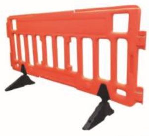 plastic fence barrier