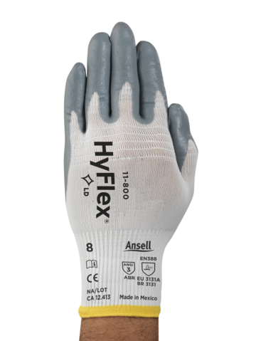 HyFlex 11-800 Grey Product NA - Front
