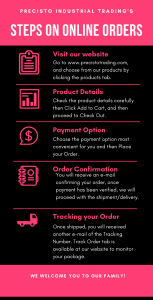 How To Order Steps