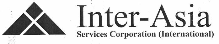 Inter-Asia Services Corp. logo