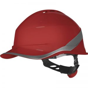 """BASEBALL CAP"" SHAPE VENTED SAFETY HELMET - ROTOR ADJUSTMENT"