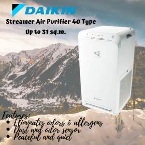 Daikin Streamer Air Purifier 40 Type