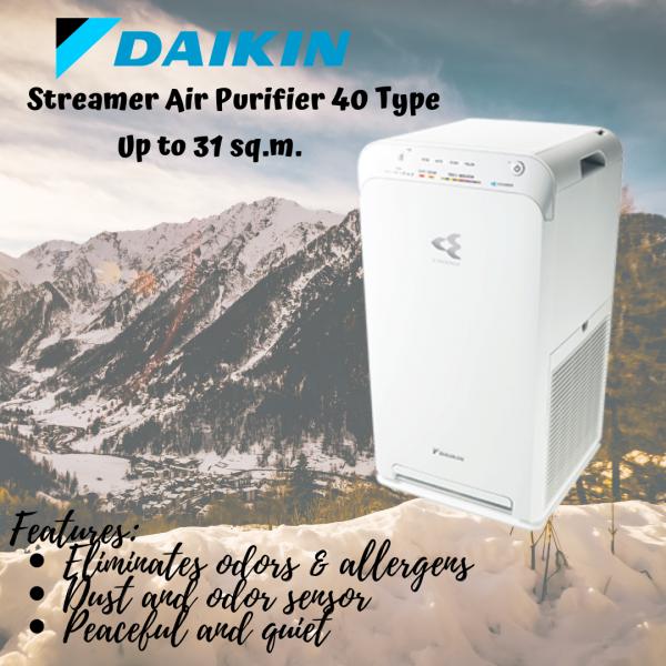 Daikin Streamer Air Purifier 40 Type