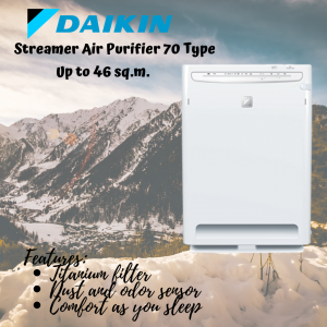 Daikin Streamer Air Purifier 70 Type