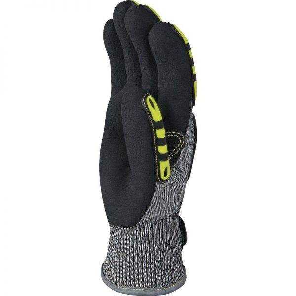 HIGH PERFORMANCE POLYETHYLENE KNITTED GLOVE - DOUBLE NITRILE-COATING PALM