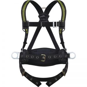 FALL ARRESTER HARNESS WITH BELT AND GROMMETS - 3 ANCHORAGE POINTS