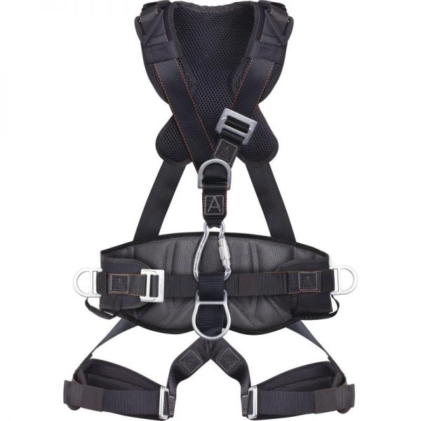 FALL ARRESTER HARNESS WITH BELT FOR ROPE ACCESS WORK - 5 ANCHORAGE POINTS