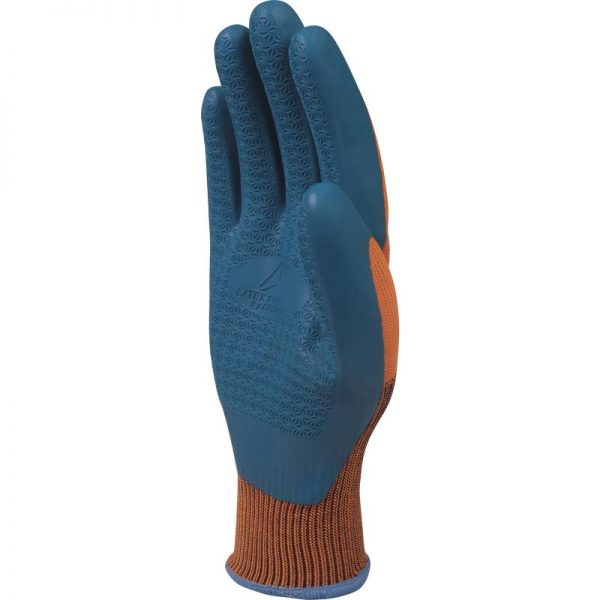 POLYESTER KNITTED GLOVE- LATEX COATING PALM