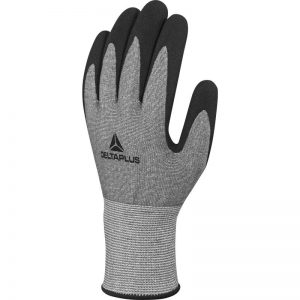 KNITTED XTREM CUT® GLOVE - GRITTY NITRILE FOAM COATED PALM - GAUGE 13