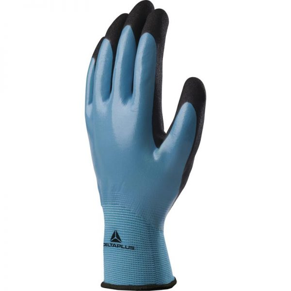 POLYAMIDE GLOVE - NITRILE-COATED HAND - NITRIL FOAM-COATED HANDLE