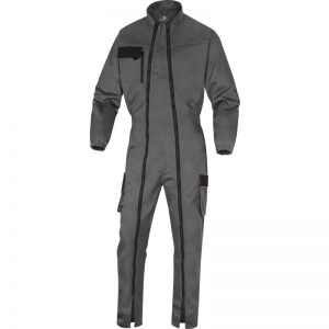 MACH2 WORKING OVERALL IN POLYESTER/COTTON - DOUBLE ZIP